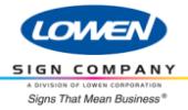 Lowen Sign Co.