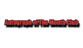 Autographs of the Month