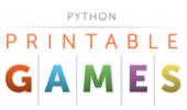 Python Printable Games